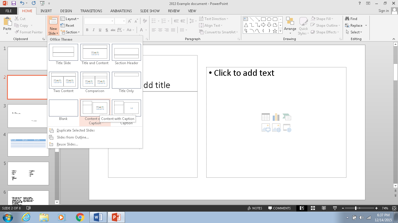 Powerpoint 2013 Accessibility Checklist