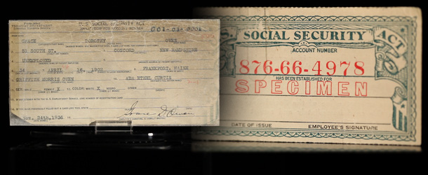 Key Dates in the History of Social Security