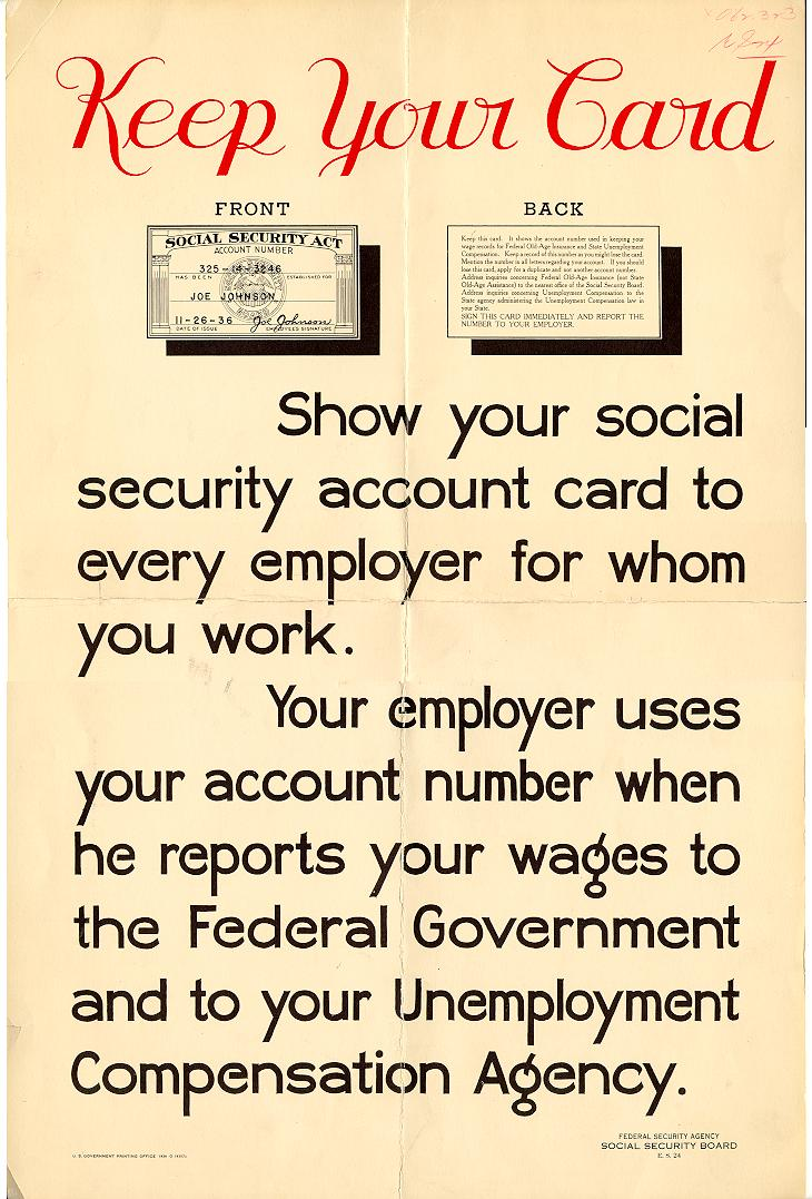 a history of social security in 1935 One of the most visible acts of government discrimination against african  americans is the social security act of 1935 a history professor at columbia  university.