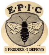 EPIC program sticker