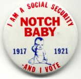 Notch Baby button