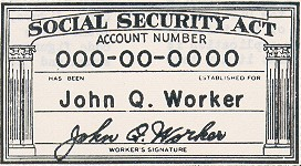 How are social security numbers assigned