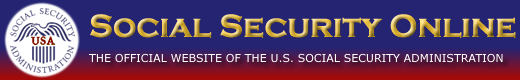 Social Security Online - The Official Website of the U.S. Social Security Administration