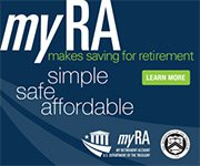 myRA makes saving for retirement simple, safe, and affordable.