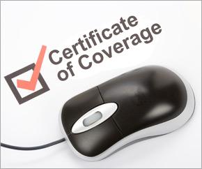 International programs online certificate of coverage service certificate of coverage yadclub Images