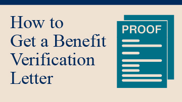 Benefit Verification Letter | Social Security Administration