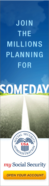 Someday Road Banner | 160 x 600 Web Graphic