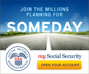 Someday Road Banner | 300 x 250 Web Graphic