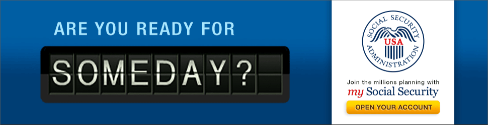 Someday Ticker Banner | 970 x 250 Web Graphic