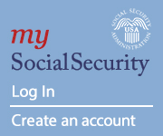 My Social Security web graphic - Sign in or create an account