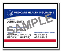 Sample New Medicare Card