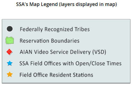 Social Security Administration's American Indians Alaska
