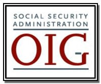 SSA's Office of the Inspector General Logo