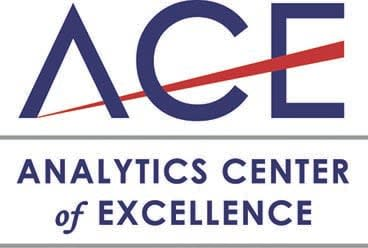 ACE logo, analytics center of excellence