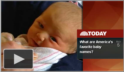 Social Security Commissioner Michael Astrue reveals Popular Baby Names for 2010