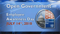 Video Highlights from Open Government Employee Awareness Day
