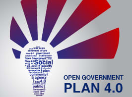 open government plan 4.0 logo