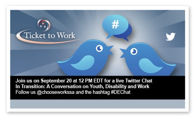Join A Conversation on Youth, Disability and Work