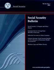 Social Security A Program And Policy History