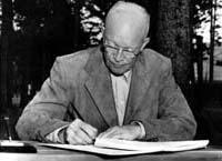 president eisenhower signed