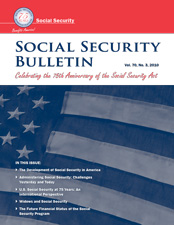 The Development of Social Security in America