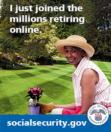 I just joined the millions retiring online.