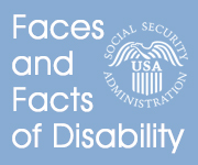 Faces And Facts Of Disability graphic